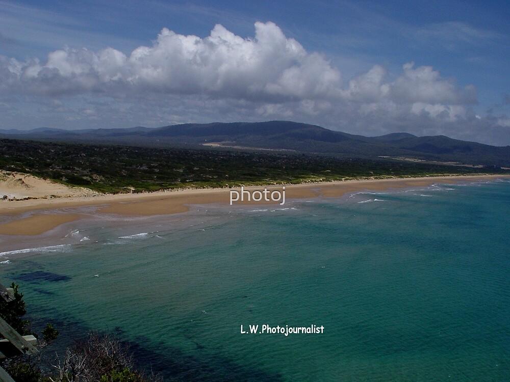 photoj Tas, Greens Beach by photoj
