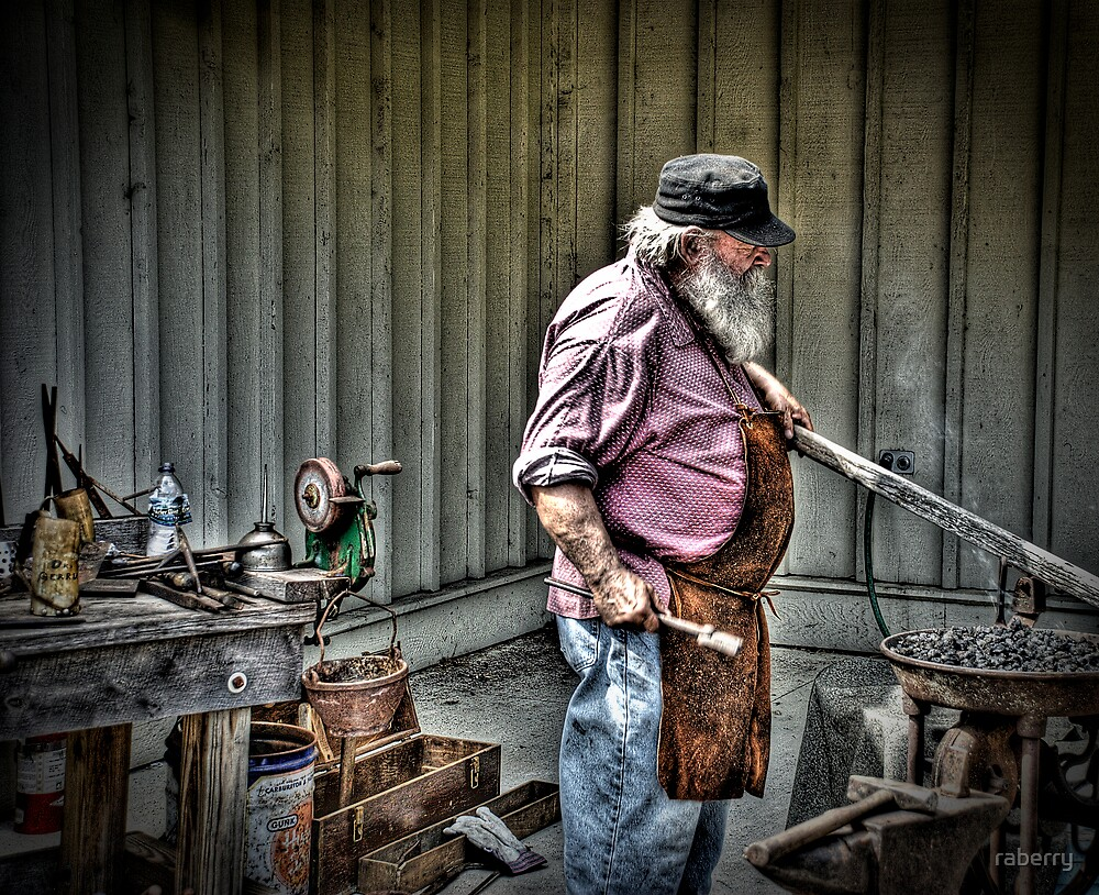 Blacksmith by raberry