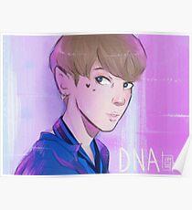 bts Jungkook DNA Poster