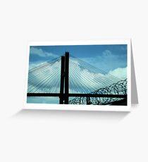 Bridge to Freedom Greeting Card
