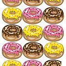 Donut Crazy Print version by shanmclean