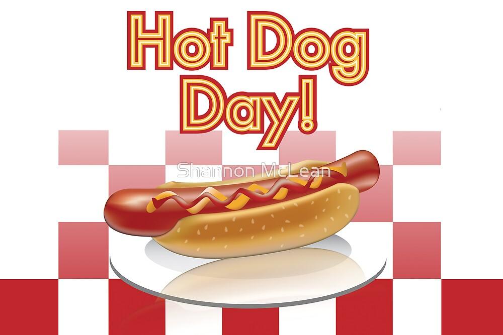 Hotdog Day by shanmclean