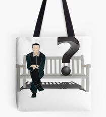 Self Question Mark Tote Bag