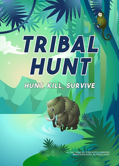 Tribal Hunt Official Poster by Strackspel