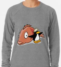 6df98935 Club Penguin Never forget Zipped Hoodie. By BitSweeper. $39.50. You've  Caught The Big Fish! Lightweight Sweatshirt