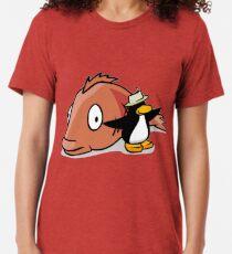 You've Caught The Big Fish! Tri-blend T-Shirt