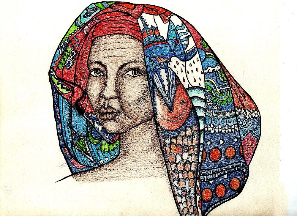 Headdress by pamelasuga