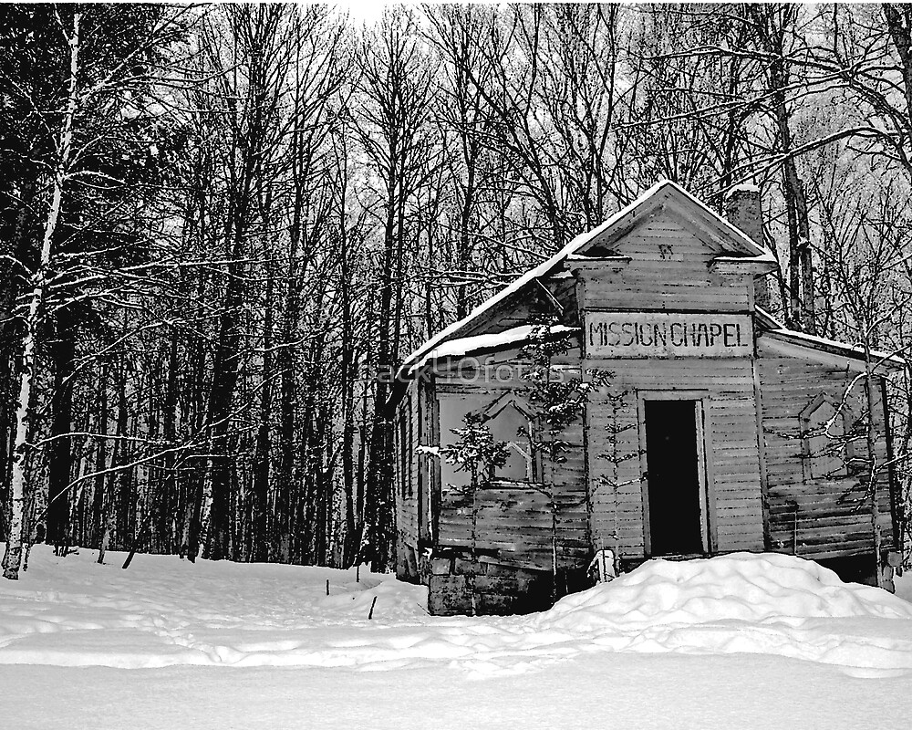 Winter Chapel by back40fotos