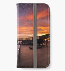Cold, Early and Colourful morning iPhone Wallet/Case/Skin