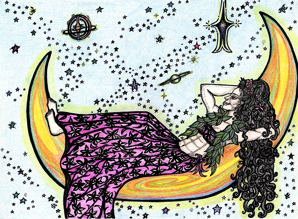 Moon Wahine by pamelasuga