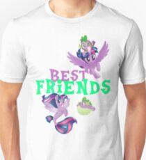 my little pony spike and twilight T-Shirt