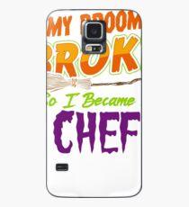 Chef Haloween funnyshirt Case/Skin for Samsung Galaxy