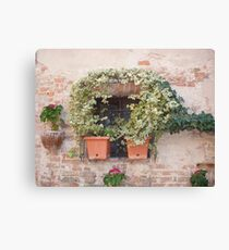 A Tuscan Window Canvas Print