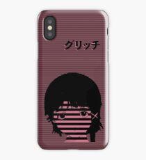 G L I T C H // a n i m e iPhone Case/Skin