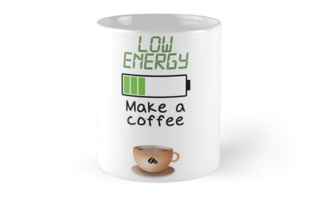 Low Energy? Make a coffee by YumikoBRose