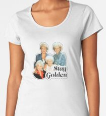 Stay Golden Women's Premium T-Shirt