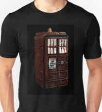 Time And Relative Dimensions In Chocolate Unisex T-Shirt