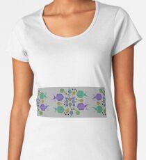 Paper Bacteriophages Women's Premium T-Shirt