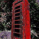 Red Phone Box by Samantha Higgs