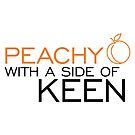 Peachy Keen by LieslDesign