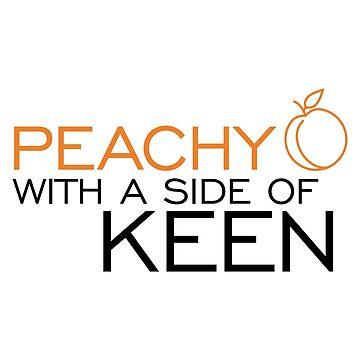 Peachy Keen by LieslDesign