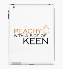Peachy Keen iPad Case/Skin