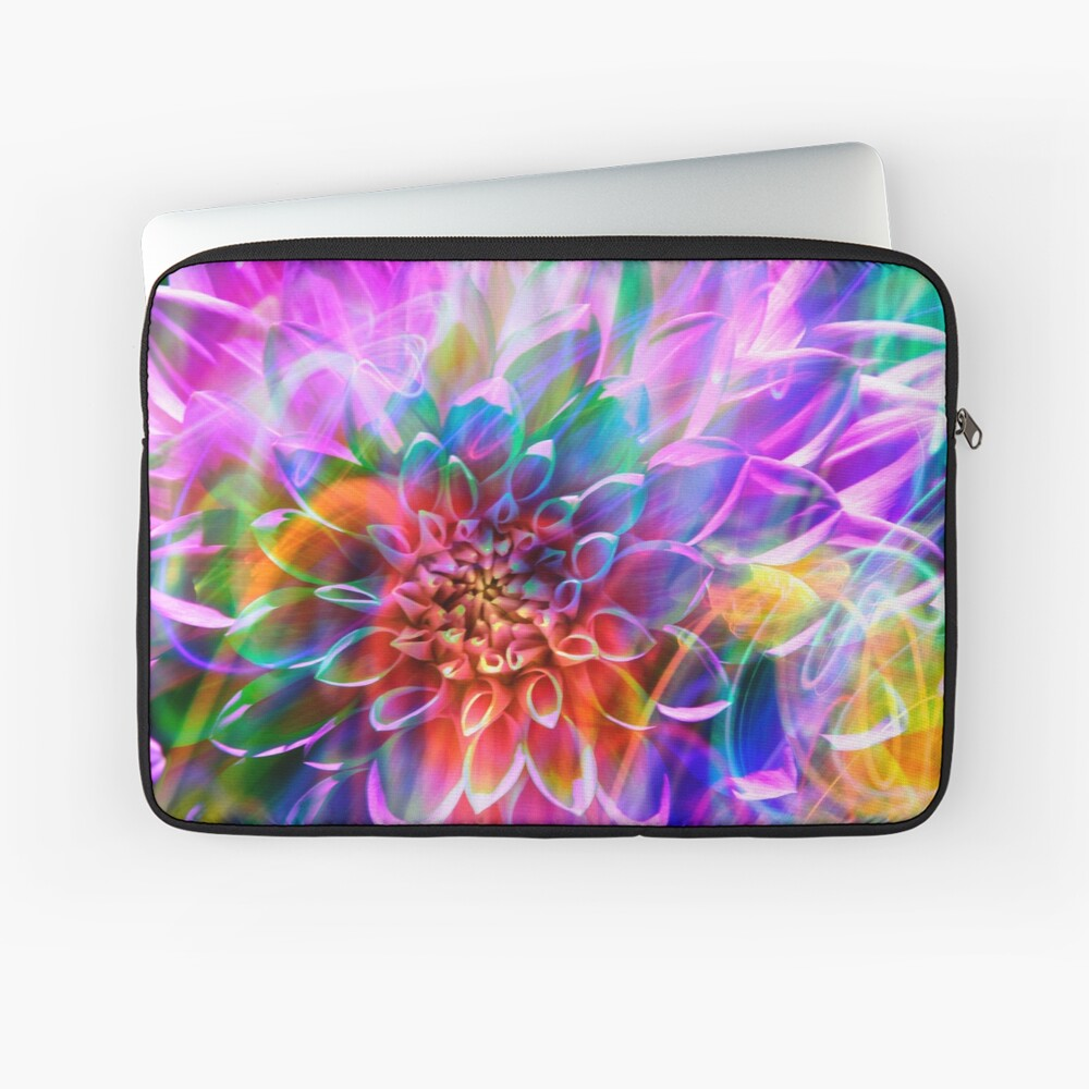 """""""Crosshairs of a Perpetual Doppler Shift"""" Laptop Sleeve"""