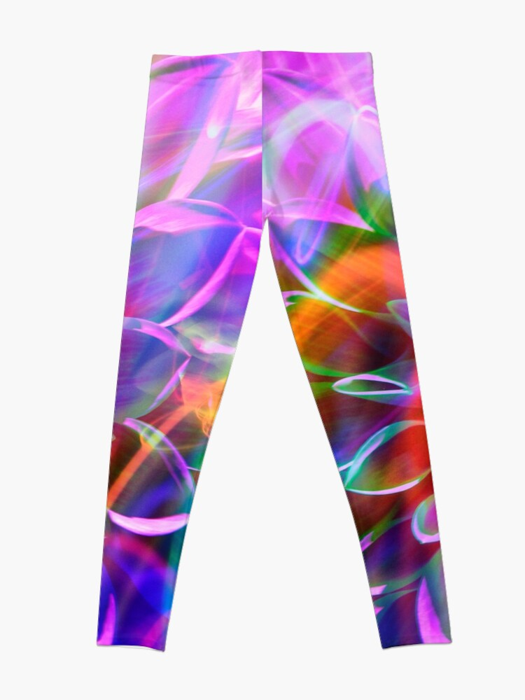 "Alternate view of ""Crosshairs of a Perpetual Doppler Shift"" Leggings"