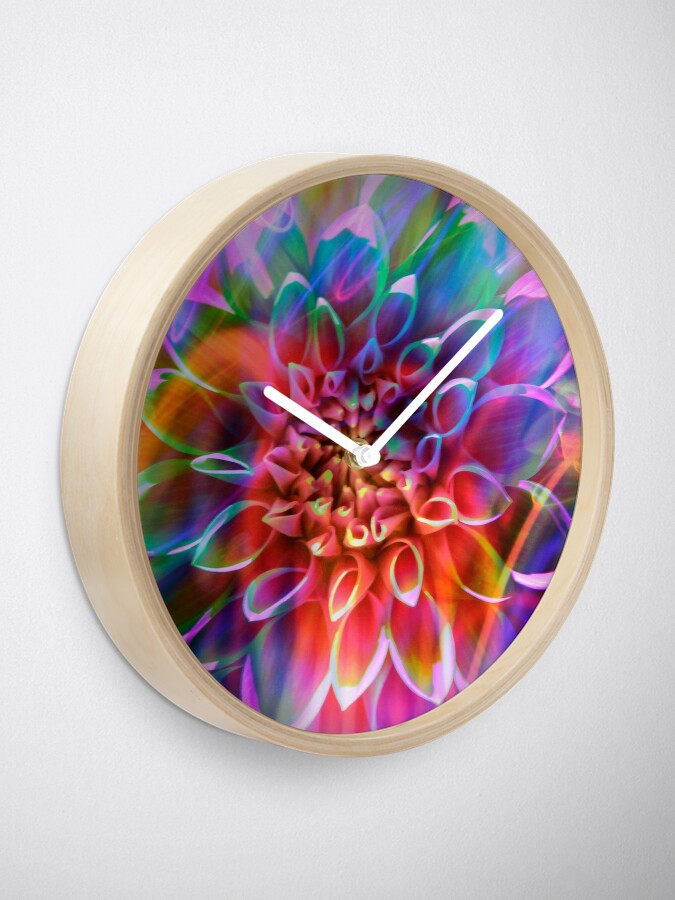 """Alternate view of """"Crosshairs of a Perpetual Doppler Shift"""" Clock"""