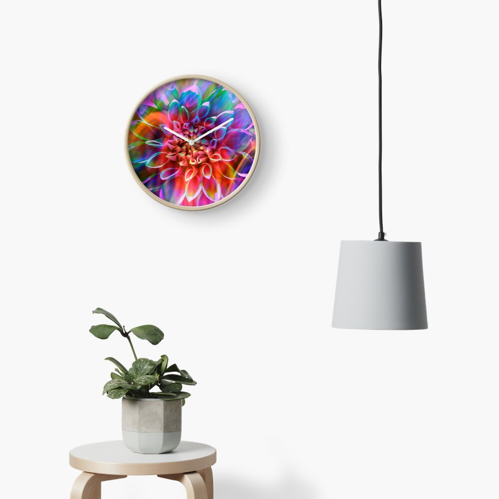 """Crosshairs of a Perpetual Doppler Shift"" Clock"