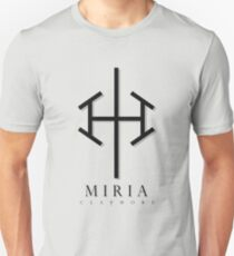 Claymore - Miria 1 T-shirt / Phone case / More T-Shirt