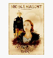 Wynonna Earp - Western Style Cast Poster #8 (Nicole Haught Special) Photographic Print