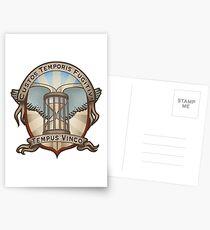 Time Traveler's Crest Postcards