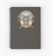 Time Traveler's Crest Spiral Notebook