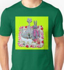 Handmade cat and rabbit toys. T-Shirt
