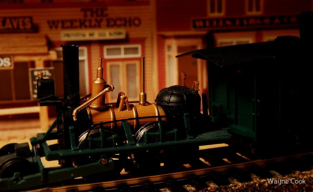 John Bull Locomotive  1831 by Wayne Cook