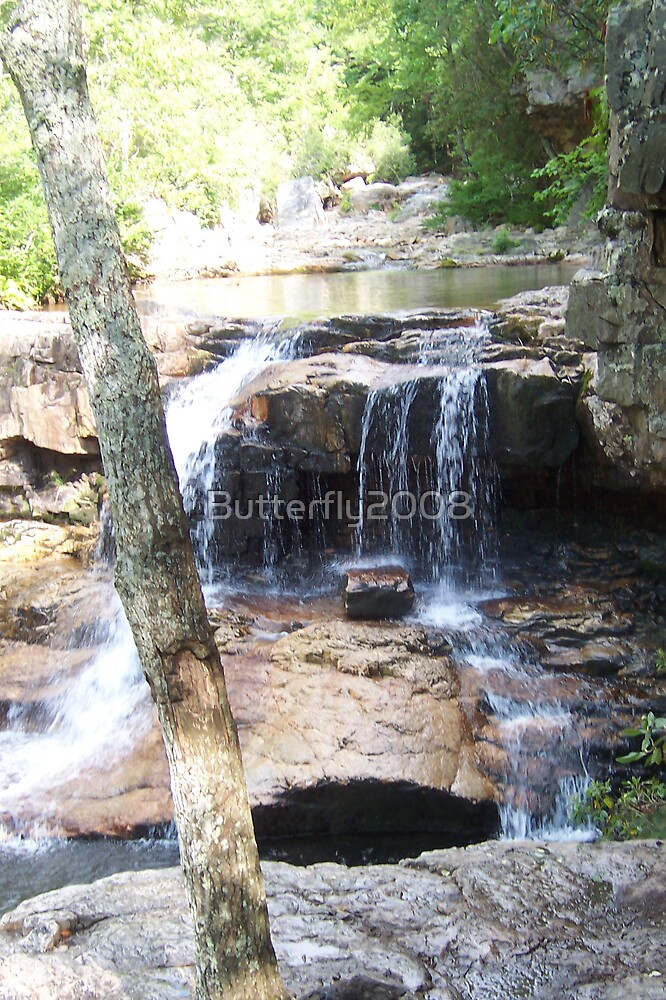 St Mary's Falls by Butterfly2008