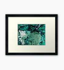 Mountain Ice Framed Print
