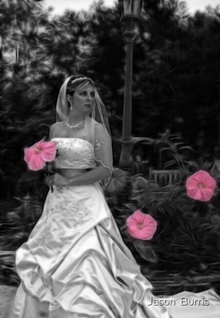 Here comes the bride. by Jason  Burris