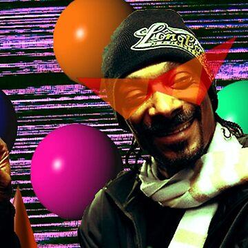Vaporwave Aesthetic Snoop Dogg by pkbrendan