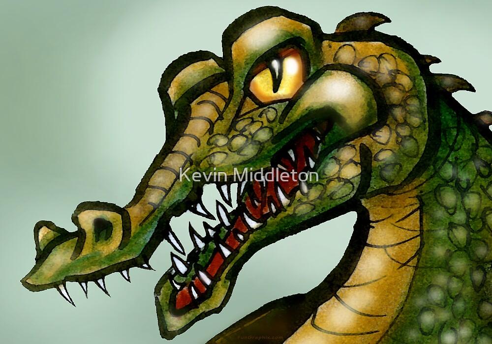 Crocodile Smile by Kevin Middleton