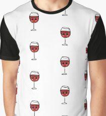 glass of wine  Graphic T-Shirt