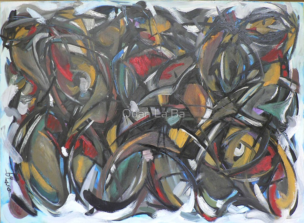Abstraction - A time in emotion by Quan La Ba