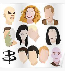 Buffy Villains Set Poster