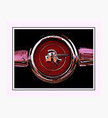pontiac firebird badge Photographic Print