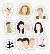 Buffy Villains Set Sticker