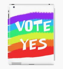 Vote Yes iPad Case/Skin