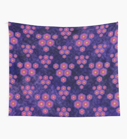 Hexachron 2 Wall Tapestry