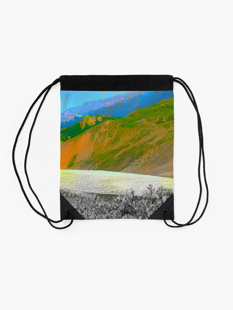Alternate view of Instant Gratitude Drawstring Bag