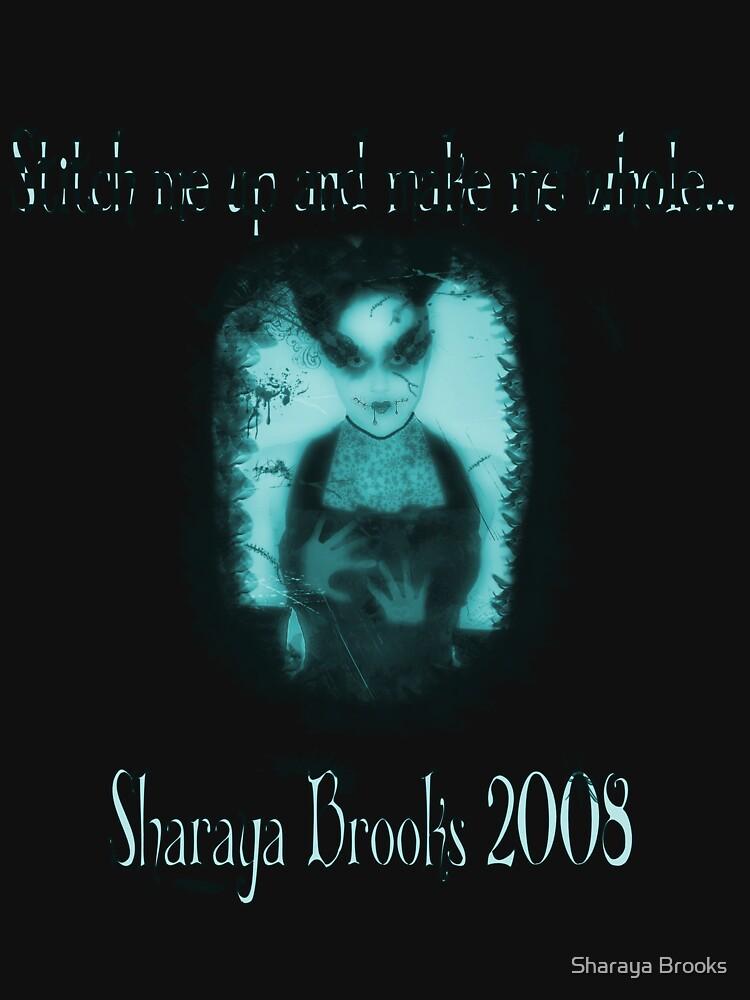 Stitches Bug/Blue Shirt by Sharaya